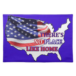 USA - There's No Place Like Home American MoJo Pla Placemat