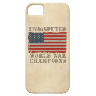 USA, Undisputed World War Champions Barely There iPhone 5 Case