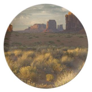 USA, Utah, Monument Valley National Park. Plate