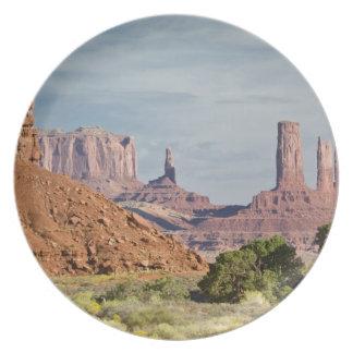 USA, Utah, Monument Valley Navajo Tribal Park. Plate