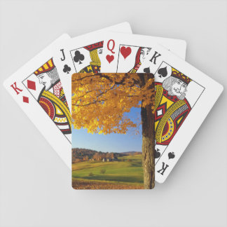 USA, Vermont. Farm Scenic Near South Woodstock Playing Cards