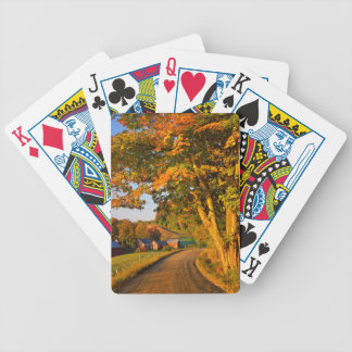 USA, Vermont, South Woodstock Bicycle Playing Cards