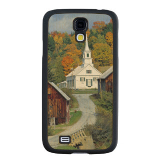 USA, Vermont, Waits River. Fall foliage adds Carved® Maple Galaxy S4 Case