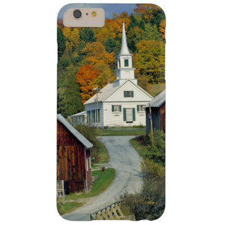 USA, Vermont, Waits River. Fall foliage adds Barely There iPhone 6 Plus Case