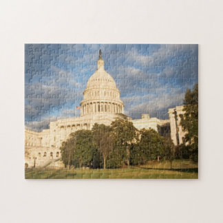 USA, Washington DC, Capitol building Jigsaw Puzzle