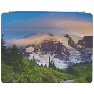 USA, Washington, Mt. Rainier. Morning sun iPad Cover