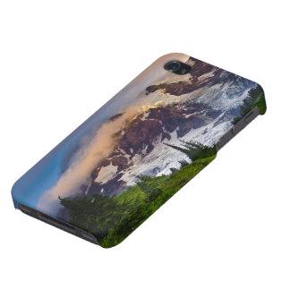 USA, Washington, Mt. Rainier. Morning sun iPhone 4/4S Cover