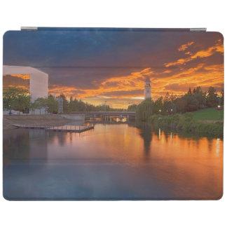 USA, Washington, Spokane, Riverfront Park iPad Cover