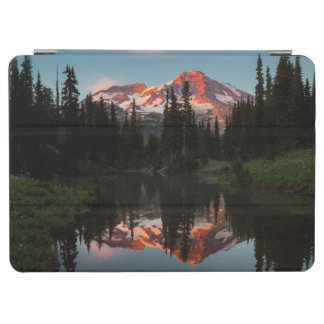 USA, Washington State. Mt. Rainier Reflected iPad Air Cover