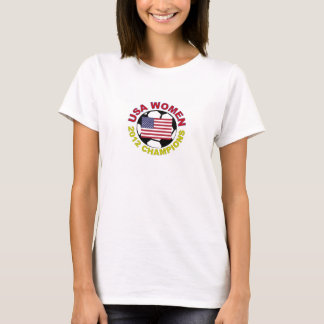USA Women 2012 Soccer Champions T-Shirt