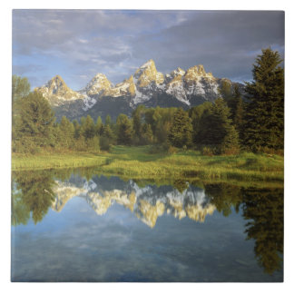 USA, Wyoming, Grand Teton National Park. Grand 2 Tile
