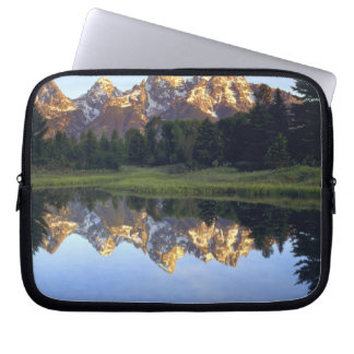 USA, Wyoming, Grand Teton National Park. Grand Laptop Sleeve