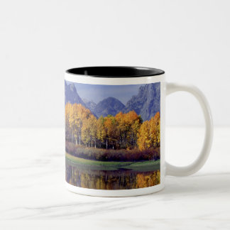 USA, Wyoming, Grand Teton National Park. Mt. Two-Tone Coffee Mug