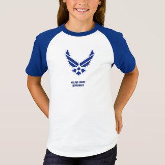 USAF dependent Girl's T-Shirt