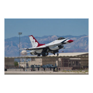 USAF Thunderbirds #6 Taking Off Poster