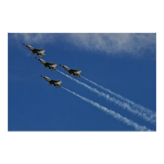 USAF Thunderbirds Arrowhead Loop Poster