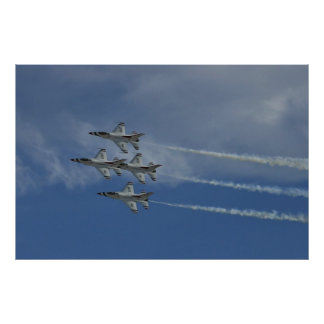 USAF Thunderbirds Diamond 2010 Poster