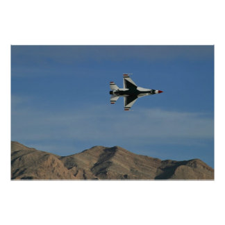 USAF Thunderbirds Solo Minimum Radius Turn Poster