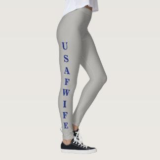 """USAF WIFE"" Women's Leggings"