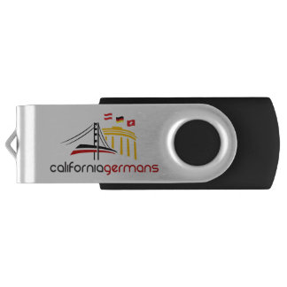 USB Flash Drive with CaliforniaGermans Logo