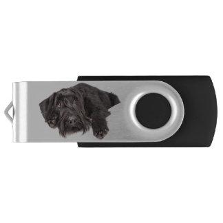 USB Stick Riesenschnauzer Swivel USB 3.0 Flash Drive