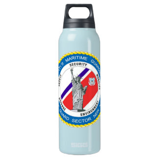 USCG Sector New York Insulated Water Bottle