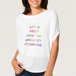 Use All The Crayons Tee Shirt