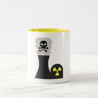 Use Caution! Two-Tone Coffee Mug