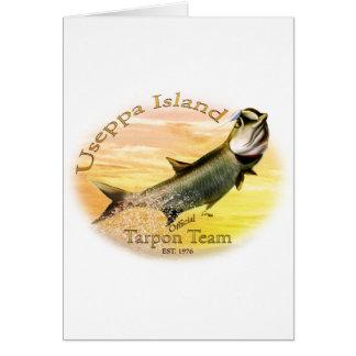 Useppa Island Tarpon Team Products Card
