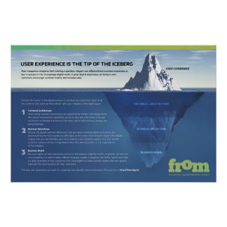 User Experience is Just the Tip of the Iceberg Poster