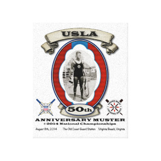 USLA 50th Anniversary Commemorative Canvas Print