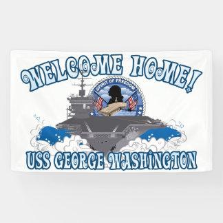 USS George Washington - Welcome Home