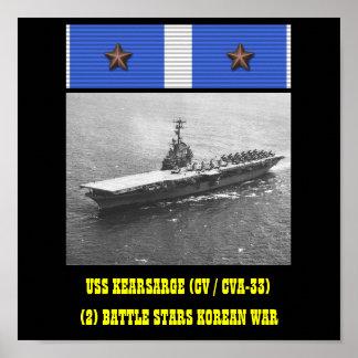 USS KEARSARGE (CV / CVA-33) POSTER