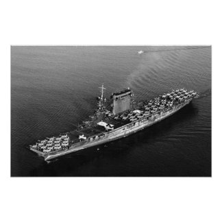 USS Lexington (CV-2) Poster