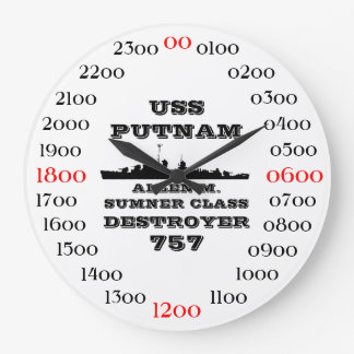 USS Putnam (DD-757) Large Clock