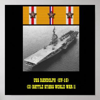USS RANDOLPH (CV-15) POSTER