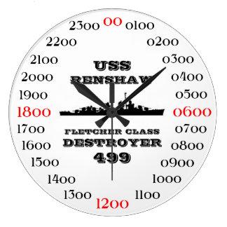 USS Renshaw (DD-499) Wall Clocks