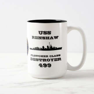USS Renshaw DD-499 Coffee Mugs