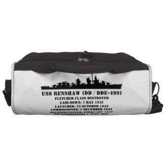 USS Renshaw (DD-499) Laptop Bags