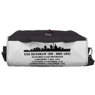 USS Renshaw DD-499 Laptop Bags