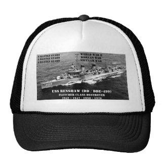 USS Renshaw DD-499 Mesh Hats