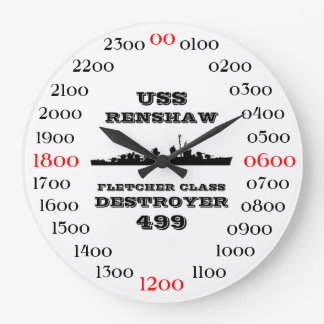 USS Renshaw (DD-499) Wall Clocks