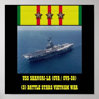 USS SHANGRI-LA (CVA / CVS-38) POSTER