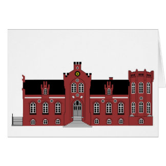 Ussinggaard Castle Greeting Card