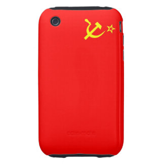 ussr russia country communist  soviet flag case iPhone 3 tough case