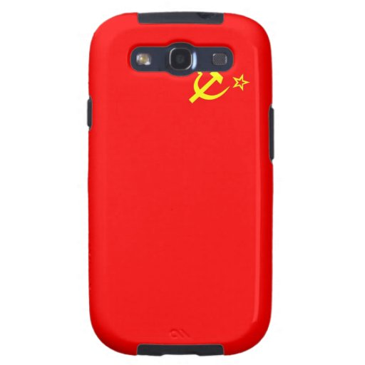 ussr russia country communist  soviet flag case galaxy SIII cover