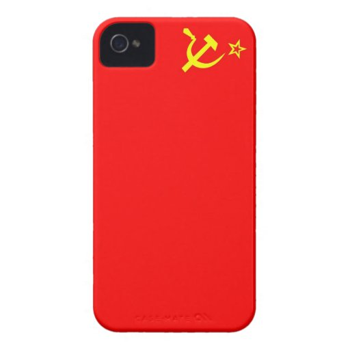 ussr russia country communist  soviet flag case Case-Mate iPhone 4 case