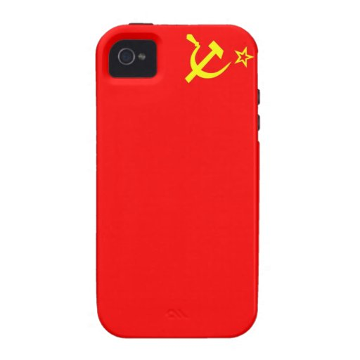 ussr russia country communist  soviet flag case iPhone 4 cases