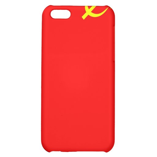 ussr russia country communist  soviet flag case iPhone 5C covers