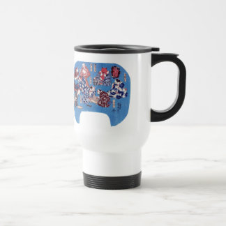 Utagawa Kuniyoshi and cat body eight hair mind Travel Mug